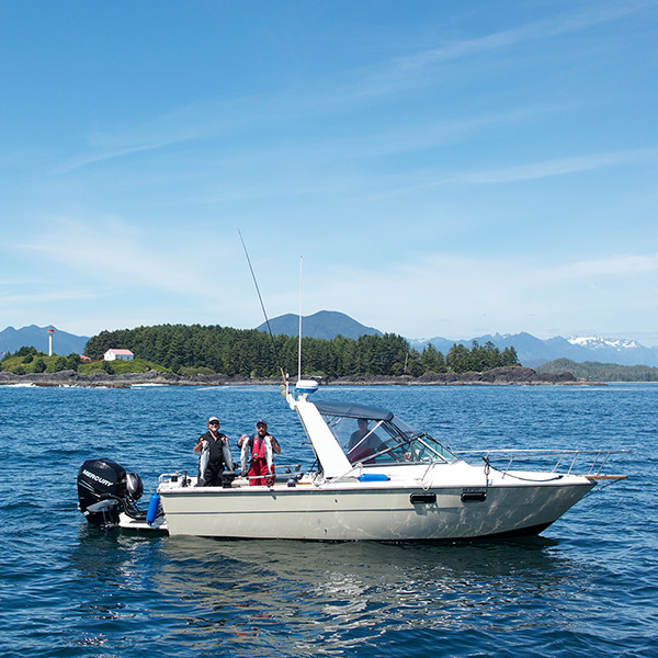 Tofino Salmon Fishing Charter